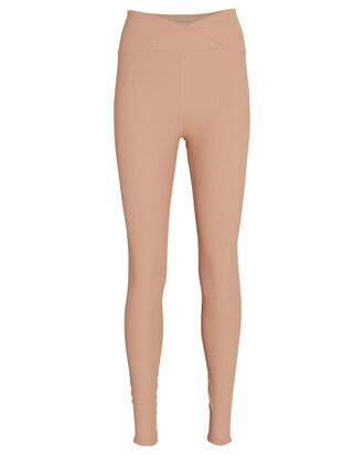 Veronica Thermal Leggings, BEIGE, hi-res