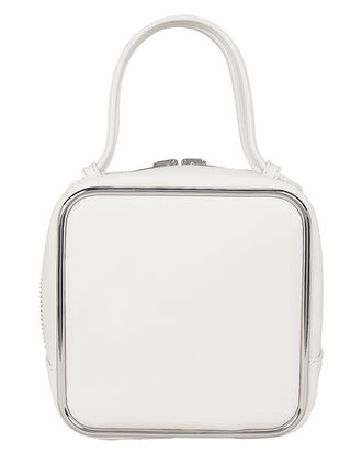 Halo Bag, WHITE LEATHER, hi-res