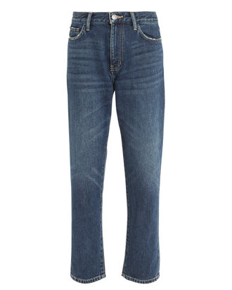 The Vintage Crop Jeans, MEDIUM WASH DENIM, hi-res