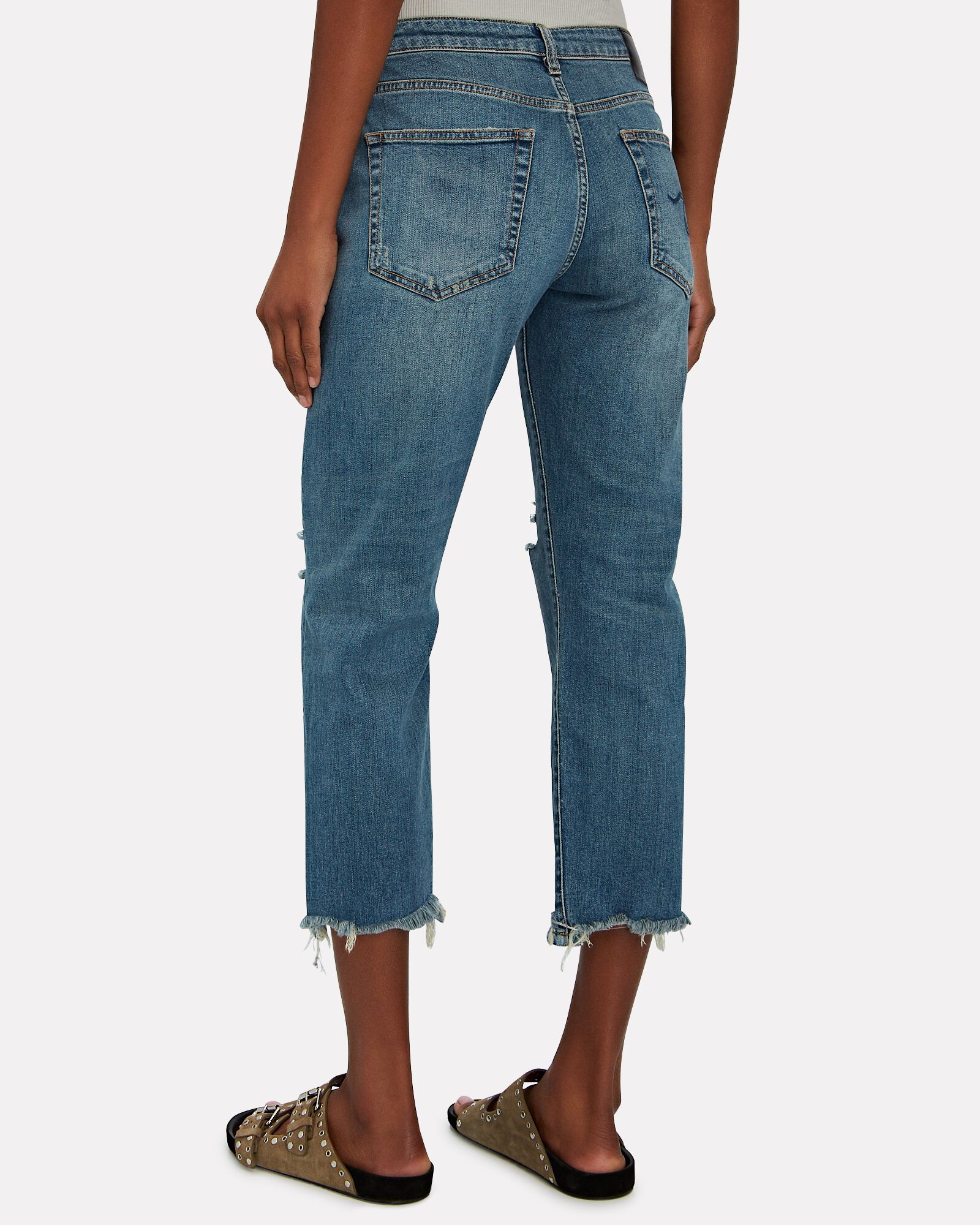 Boy Straight-Leg Crop Jeans, BAYLIS WITH RIPS, hi-res