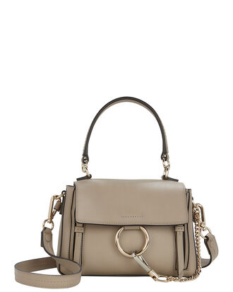 Faye Mini Shoulder Bag, GREY, hi-res