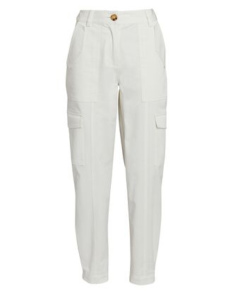 Elian Utility Pants, WHITE, hi-res