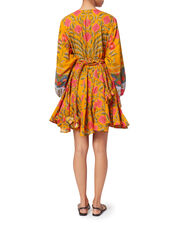 Ella Floral Swing Dress, PRINT, hi-res