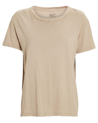 Brady Cotton Jersey T-Shirt, BEIGE, hi-res