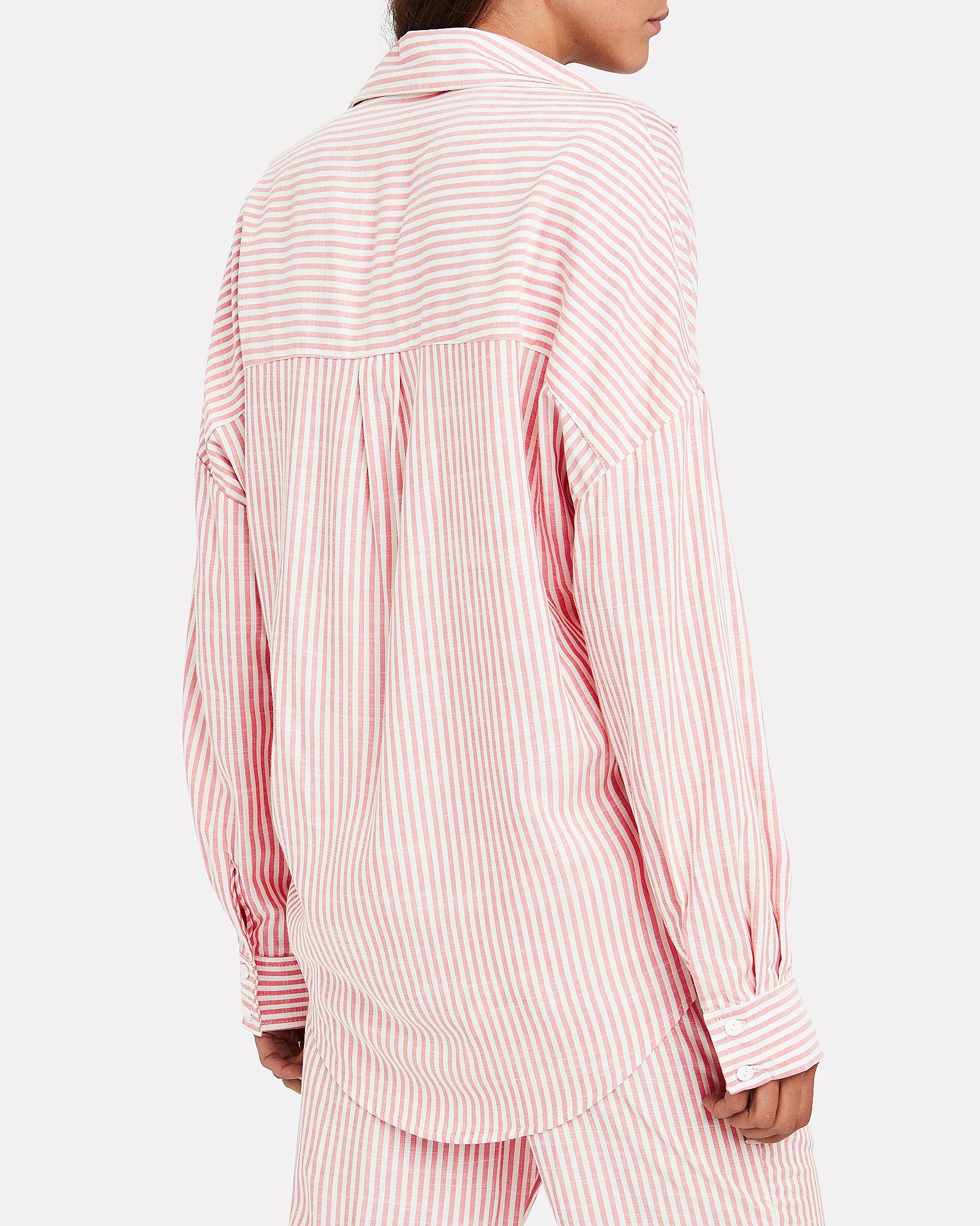 Kye Striped Button Front Shirt, MULTI, hi-res
