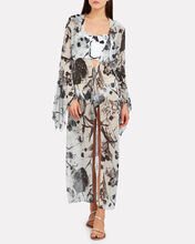 Heliana Floral Tunic, WHITE/BLACK FLORAL, hi-res