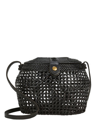 Paloma Crossbody Basket Bag, BLACK, hi-res