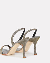 Minchisli 90 Slingback Sandals, GUNMETAL, hi-res