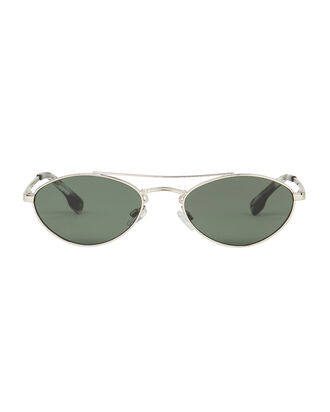 Elliptical Liaison Sunglasses, GOLD/KHAKI, hi-res