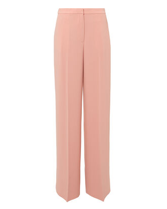 Harmon Wide Leg Trousers, PINK, hi-res