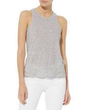 Striped Blanc Tank, MULTI, hi-res