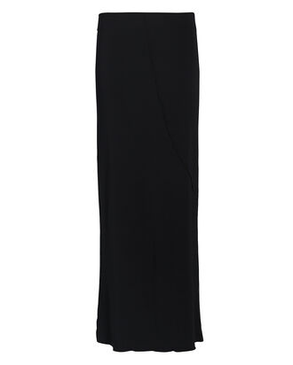 Vana Knit Midi Skirt, BLACK, hi-res