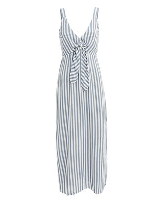 Nautica Shore Midi Dress, BLUE/STRIPE, hi-res