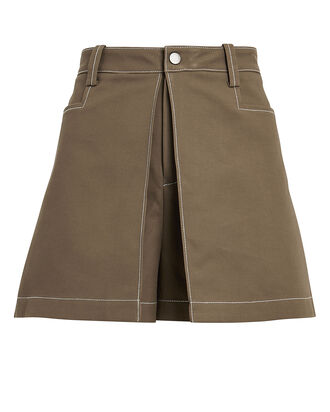 Laz Canvas Skort, MOCHA, hi-res