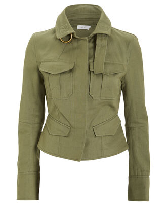 Lorimer Cargo Army Jacket, ARMY GREEN, hi-res