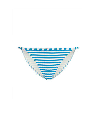 Lulu Striped Bikini Bottoms, BLUE/WHITE, hi-res