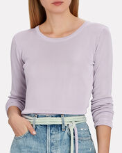 Tunis Long Sleeve T-Shirt, LIGHT PURPLE, hi-res