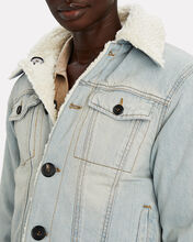 Reversible Denim Trucker Jacket, LIGHT DENIM, hi-res