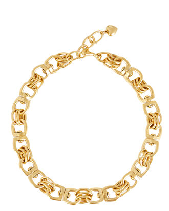 Juliet Chain-Link Necklace, GOLD, hi-res