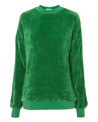 Easy Green Sweatshirt, GREEN, hi-res