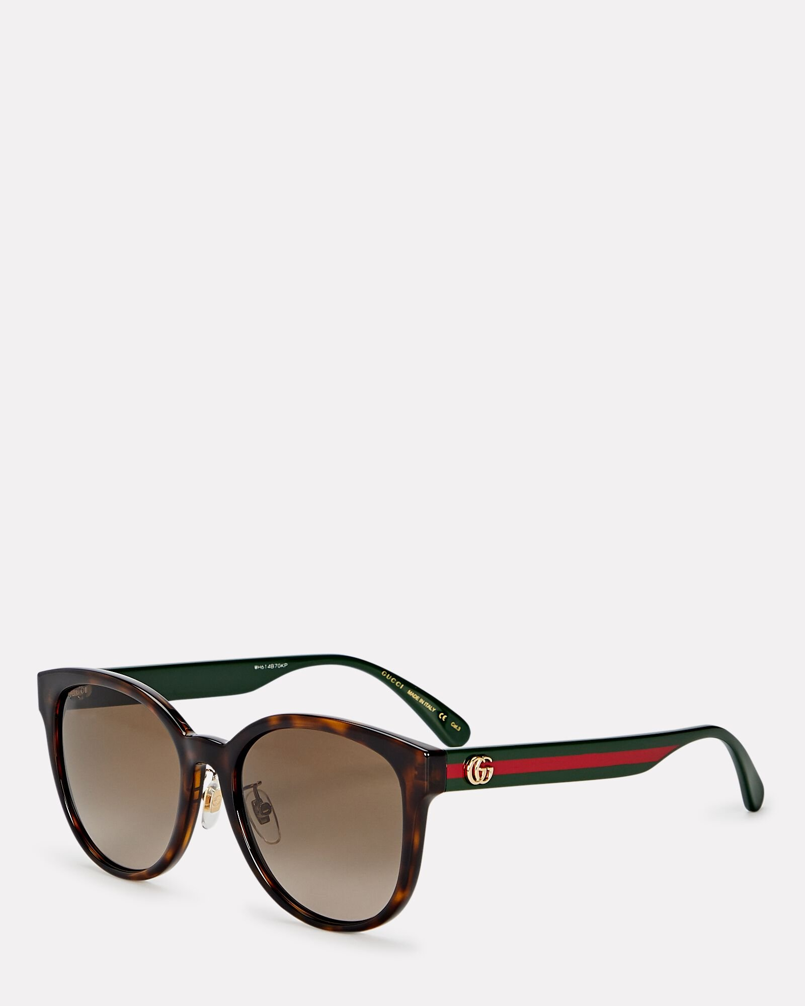 Cat Eye Web Sunglasses, BROWN, hi-res
