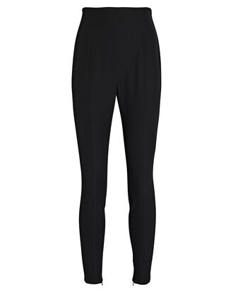 Silvio High-Rise Skinny Trousers, BLACK, hi-res