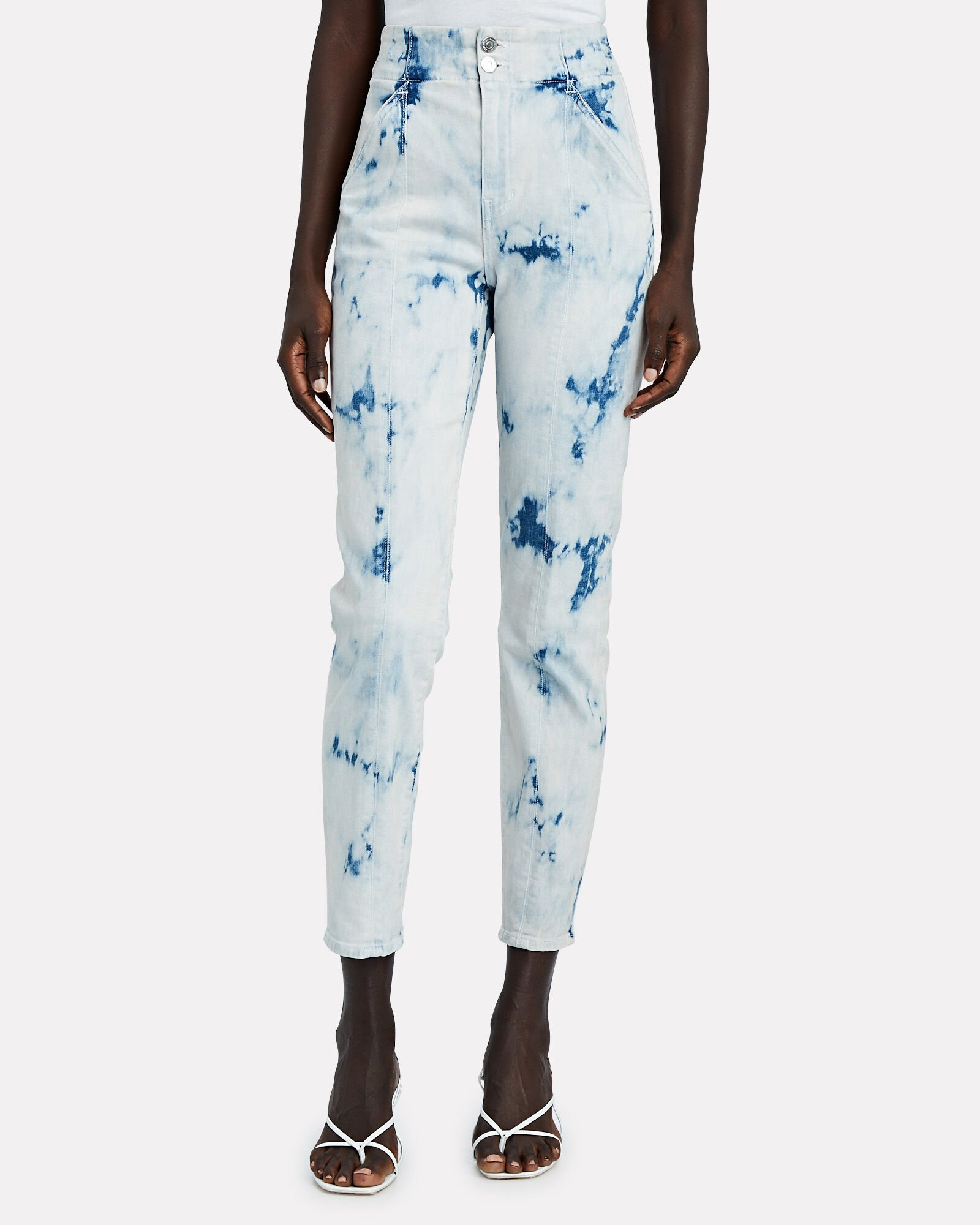 Kallie High-Rise Tie-Dye Jeans, MULTI, hi-res