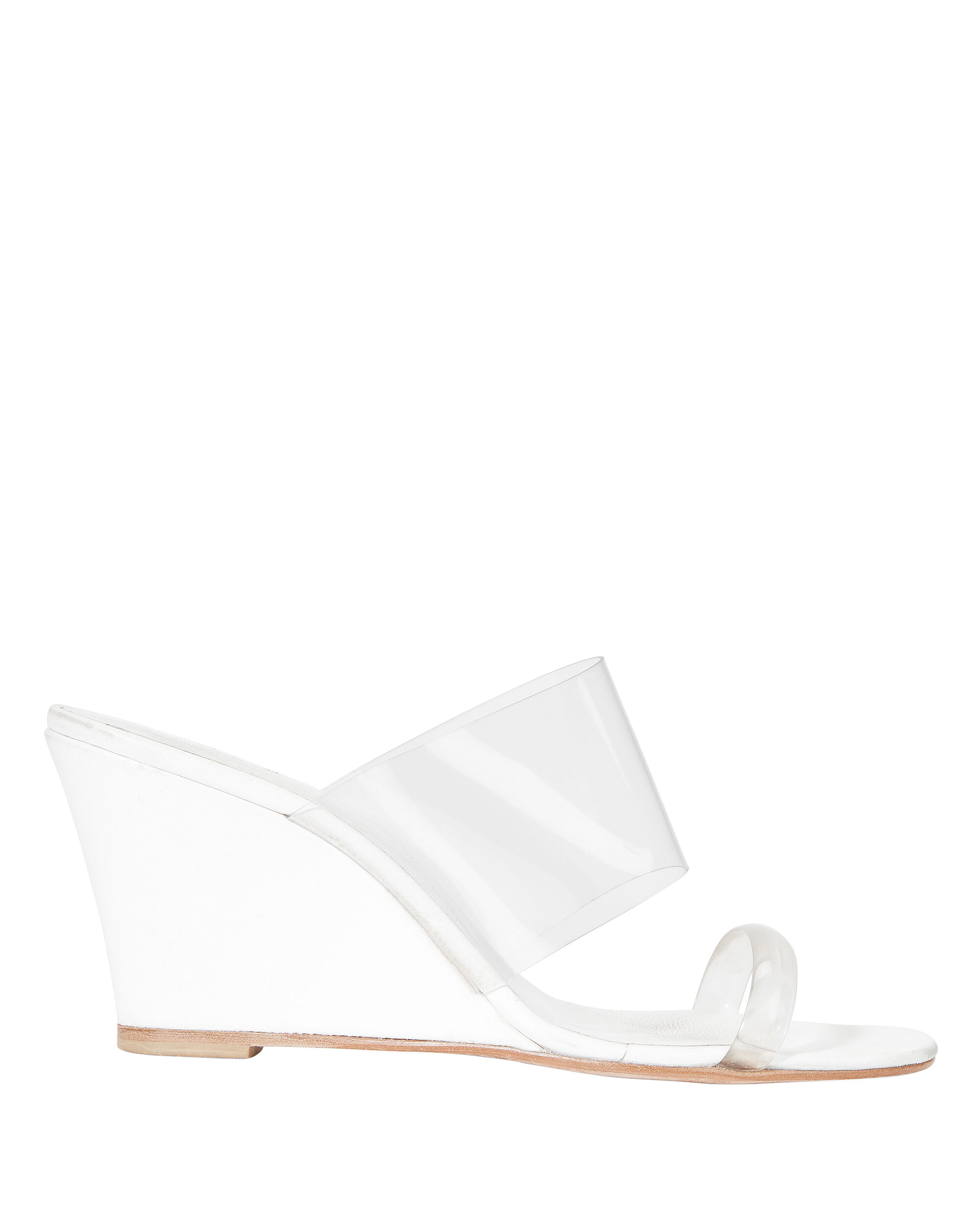 Olympia Translucent Wedges, WHITE, hi-res