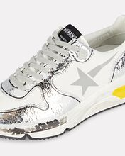 Running Sole Leather Sneakers, MULTI, hi-res