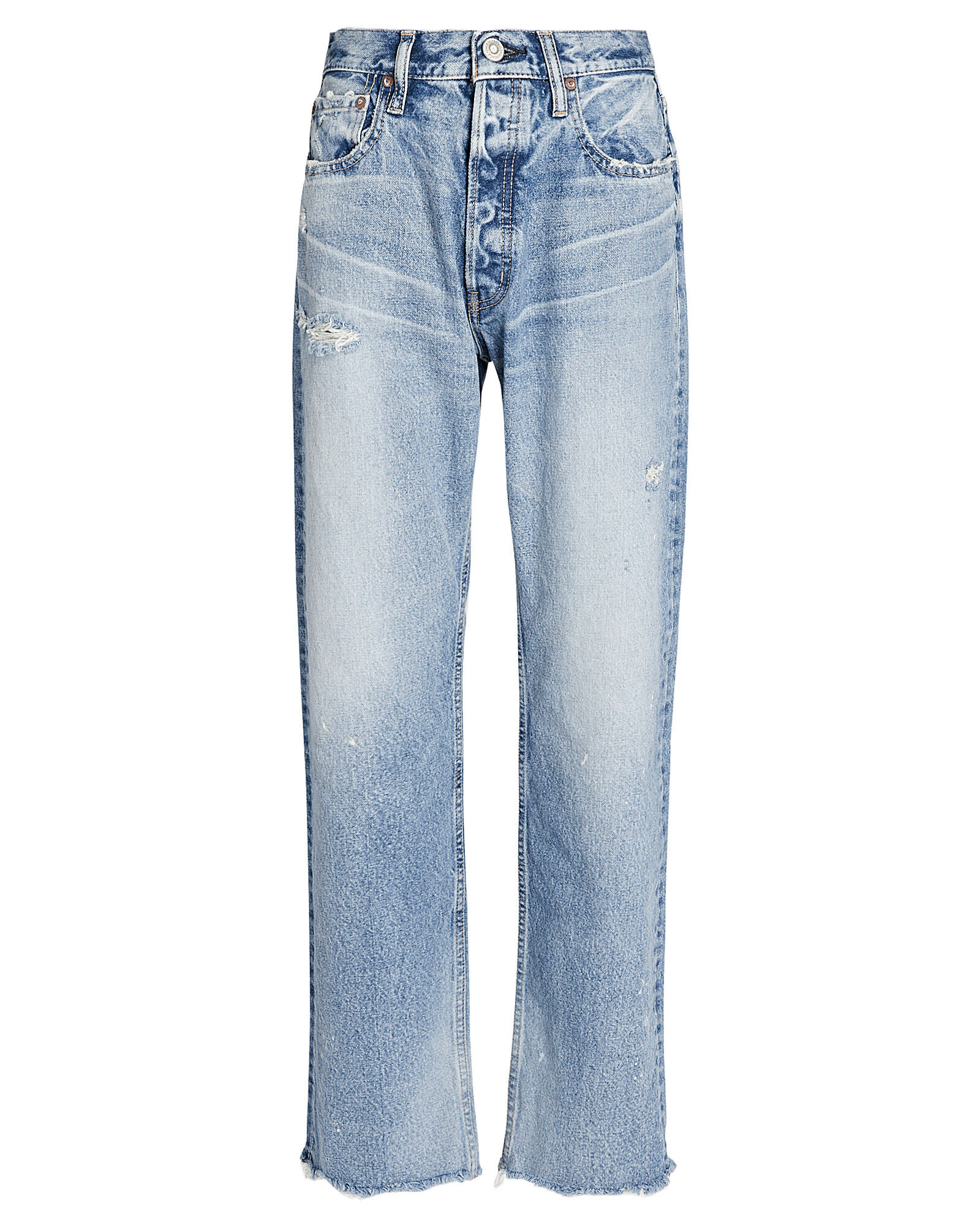 Lomita Wide Straight-Leg Jeans, MEDIUM WASH DENIM, hi-res