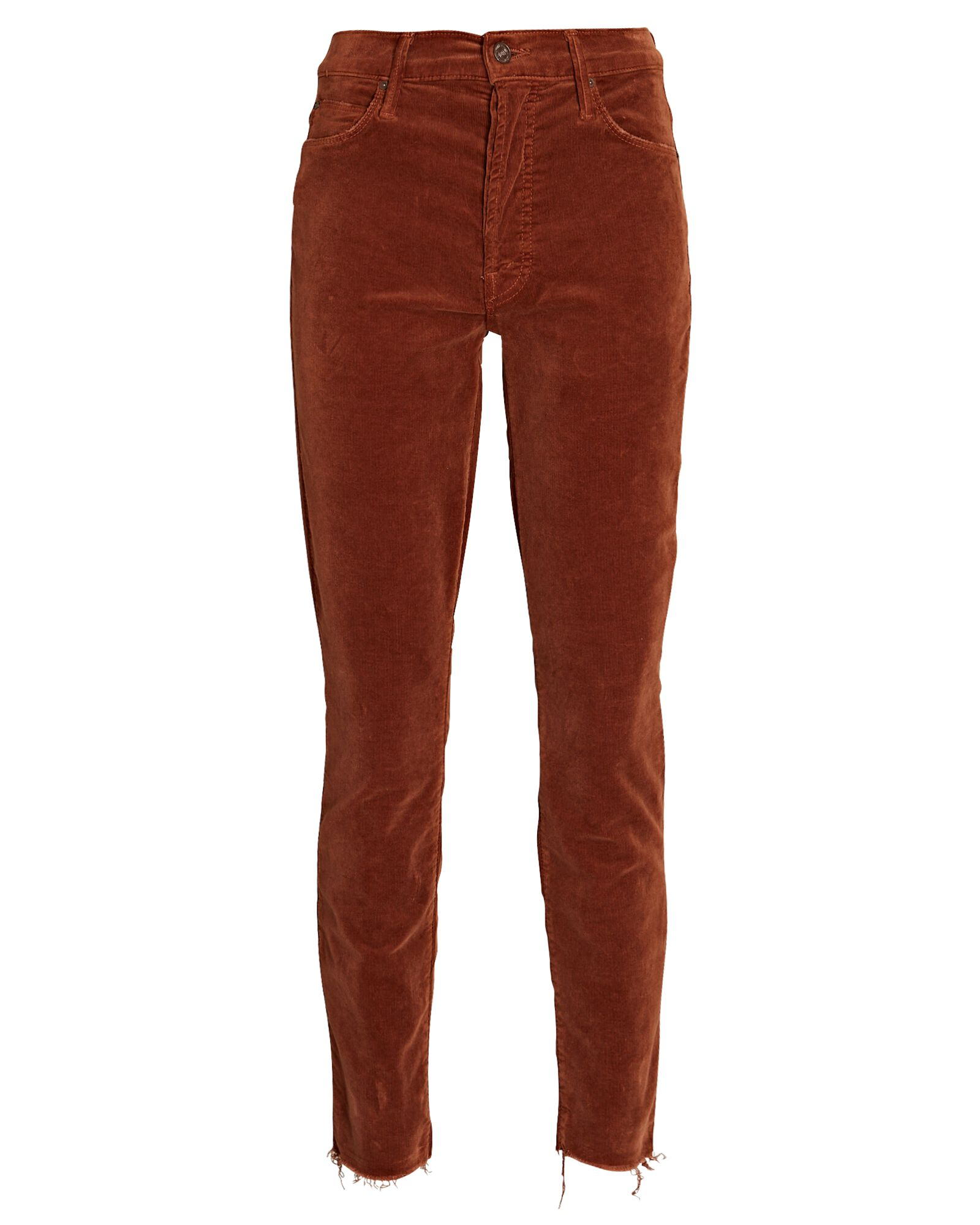 The Stunner Ankle Fray Corduroy Jeans, MONK'S ROBE, hi-res