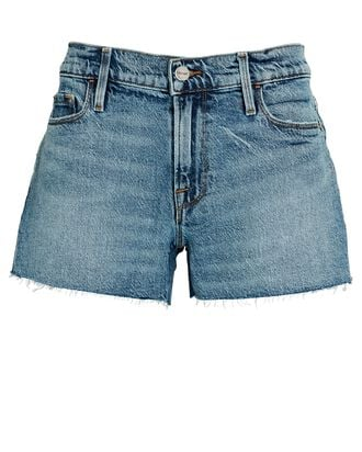 Le Cut-Off Denim Shorts, CRYSTAL SHORES, hi-res