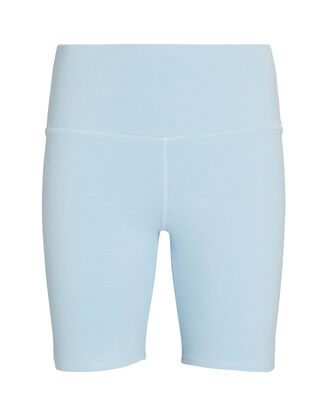 Blue Blood Bike Shorts, LIGHT BLUE, hi-res