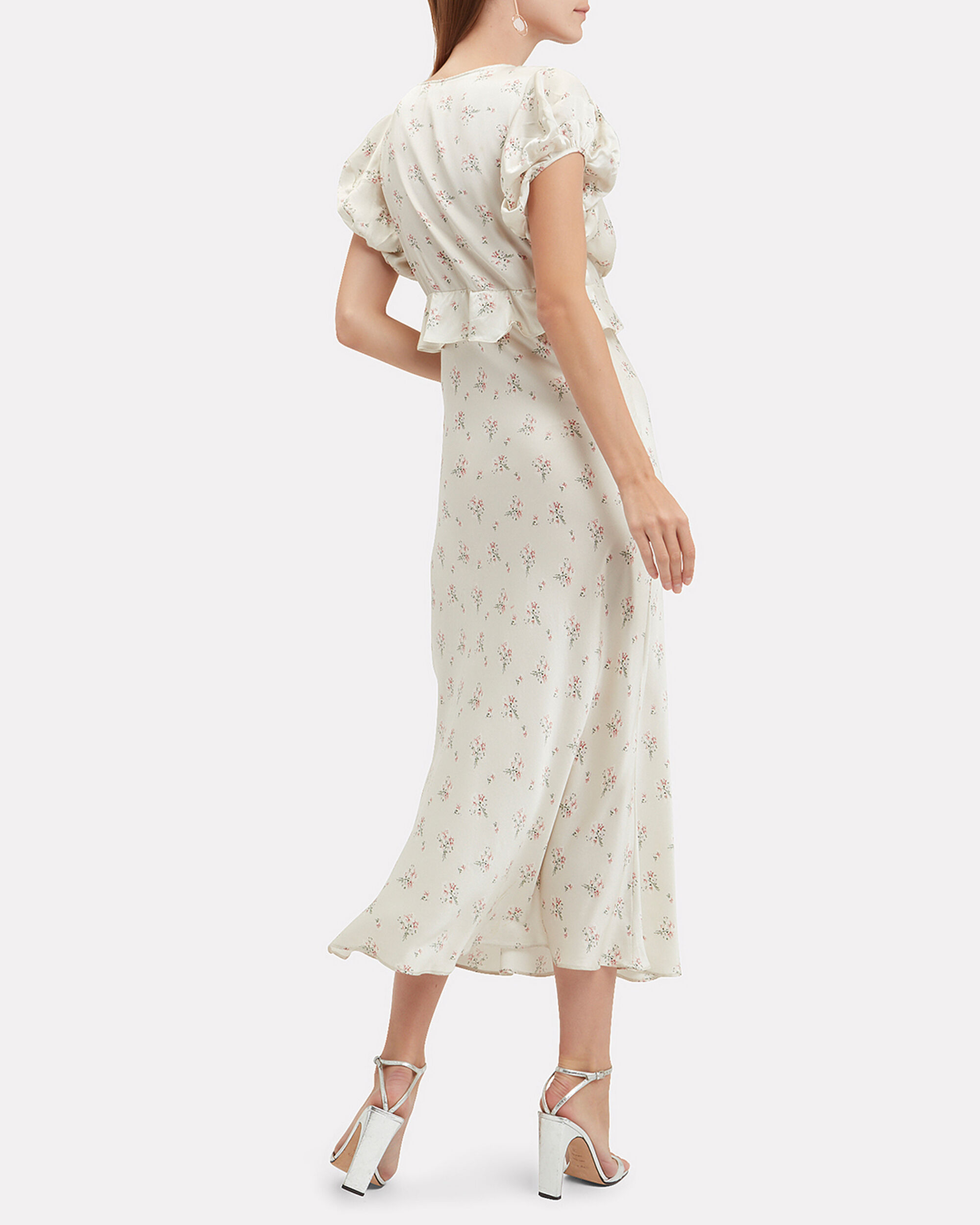 Lillian Floral Dress, MULTI, hi-res