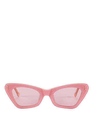 Tallow Cat Eye Sunglasses, PINK, hi-res