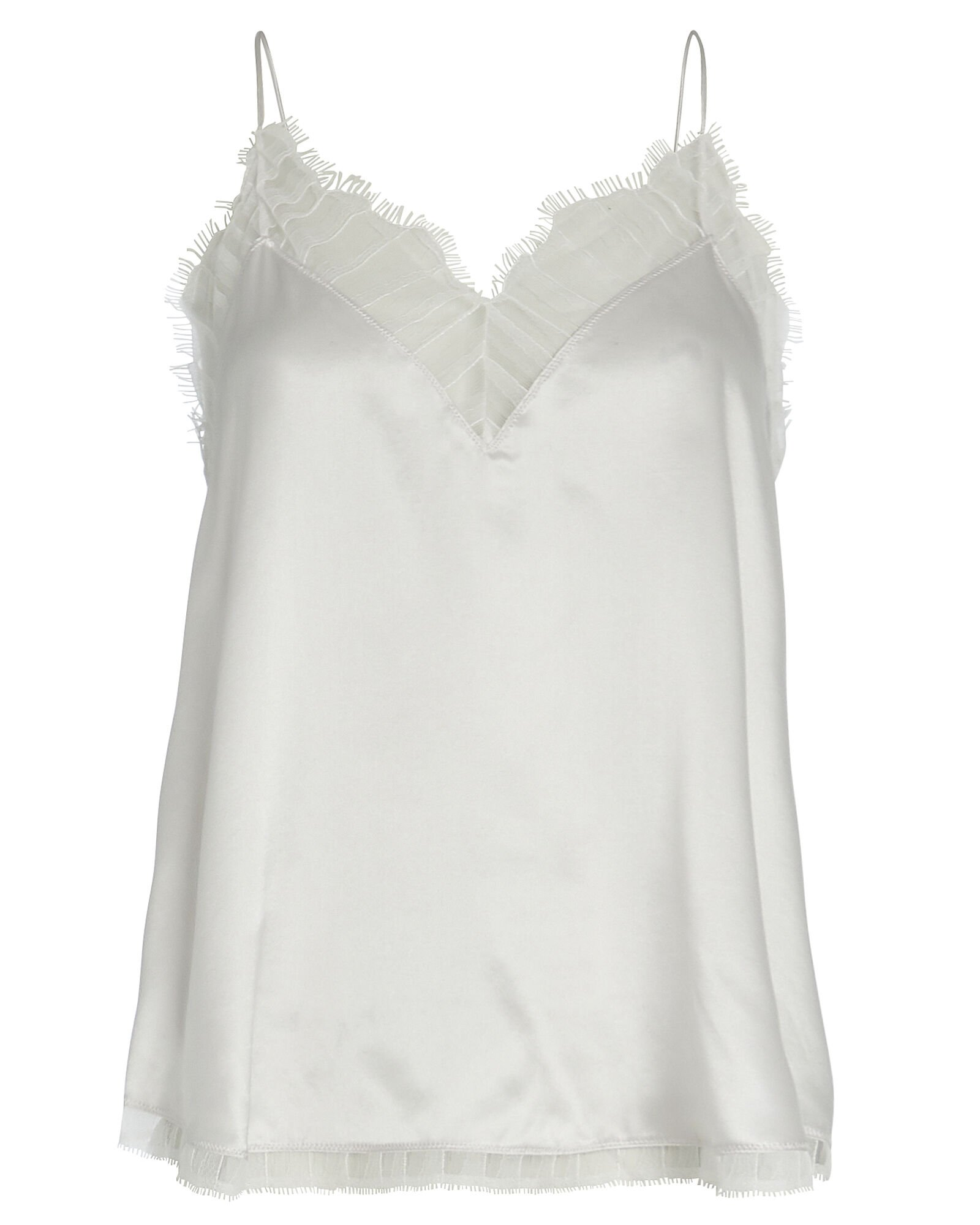 Berwyn Lace-Trimmed Silk Camisole, CLOUD, hi-res