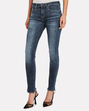 Alison Distressed Skinny Jeans, FADED INDIGO DENIM, hi-res