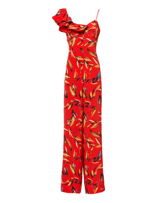 Brielle Jumpsuit, RED, hi-res