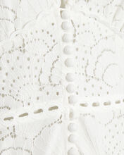 Cookes Lace High-Low Dress, WHITE, hi-res