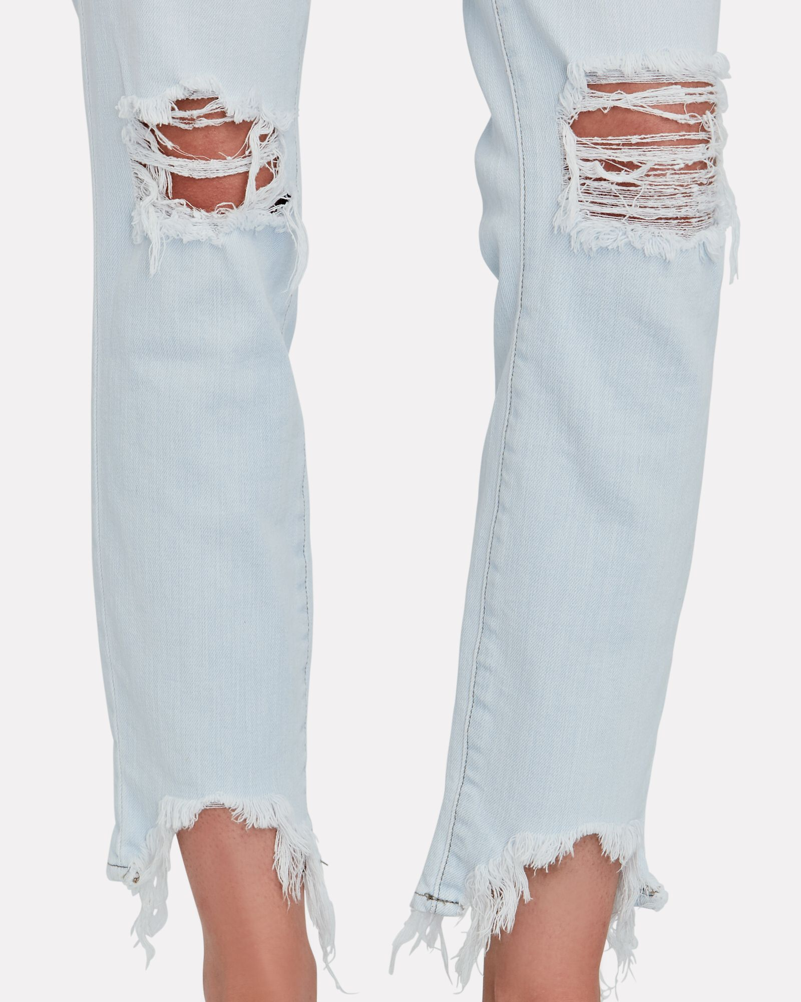 High Line Distressed Skinny Jeans, FADE OUT, hi-res