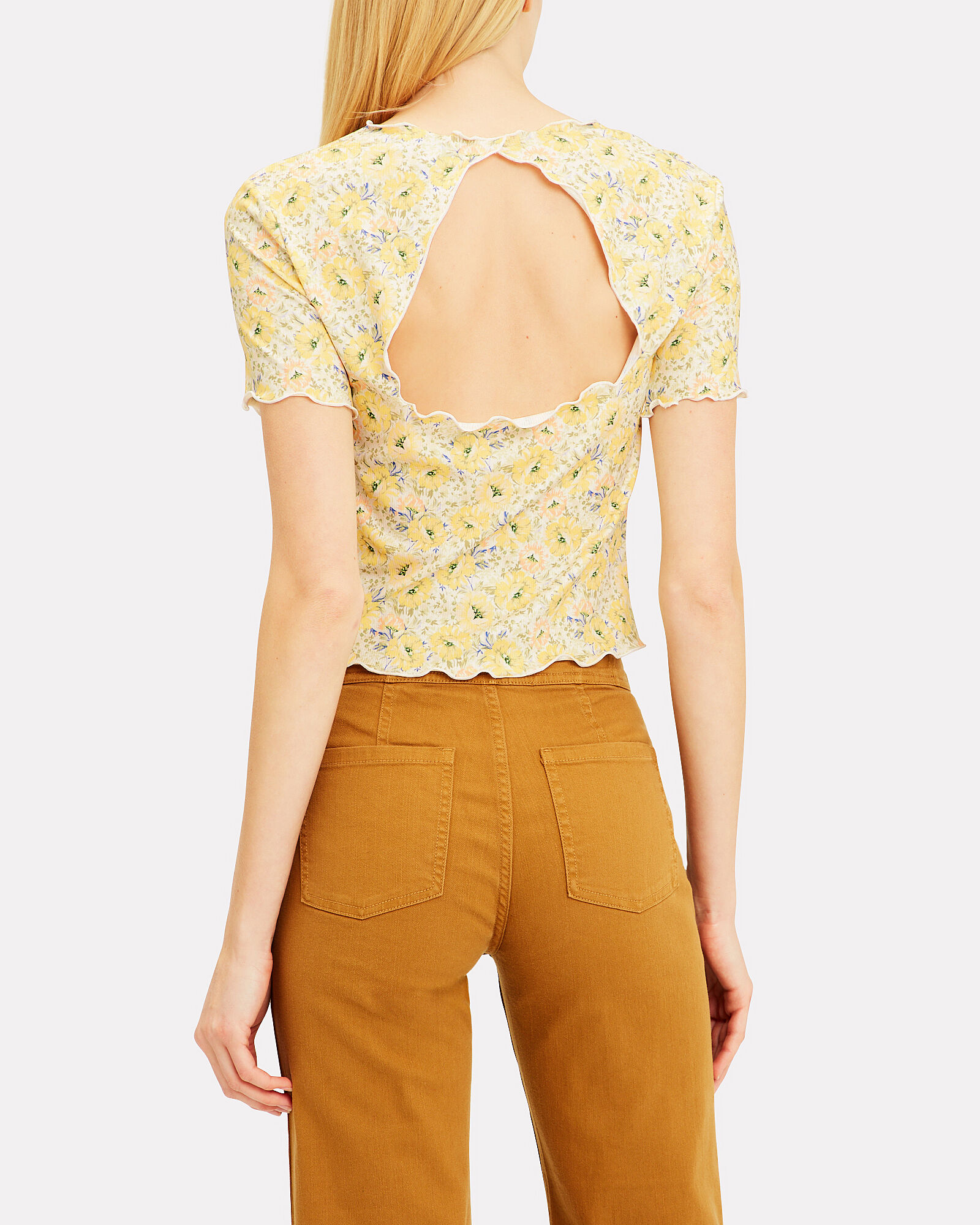 Juliana Cutout Top, MULTI, hi-res