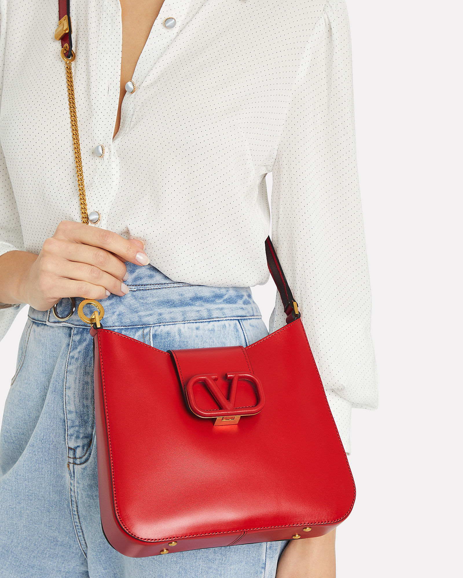 VSling Hobo Tote, RED, hi-res