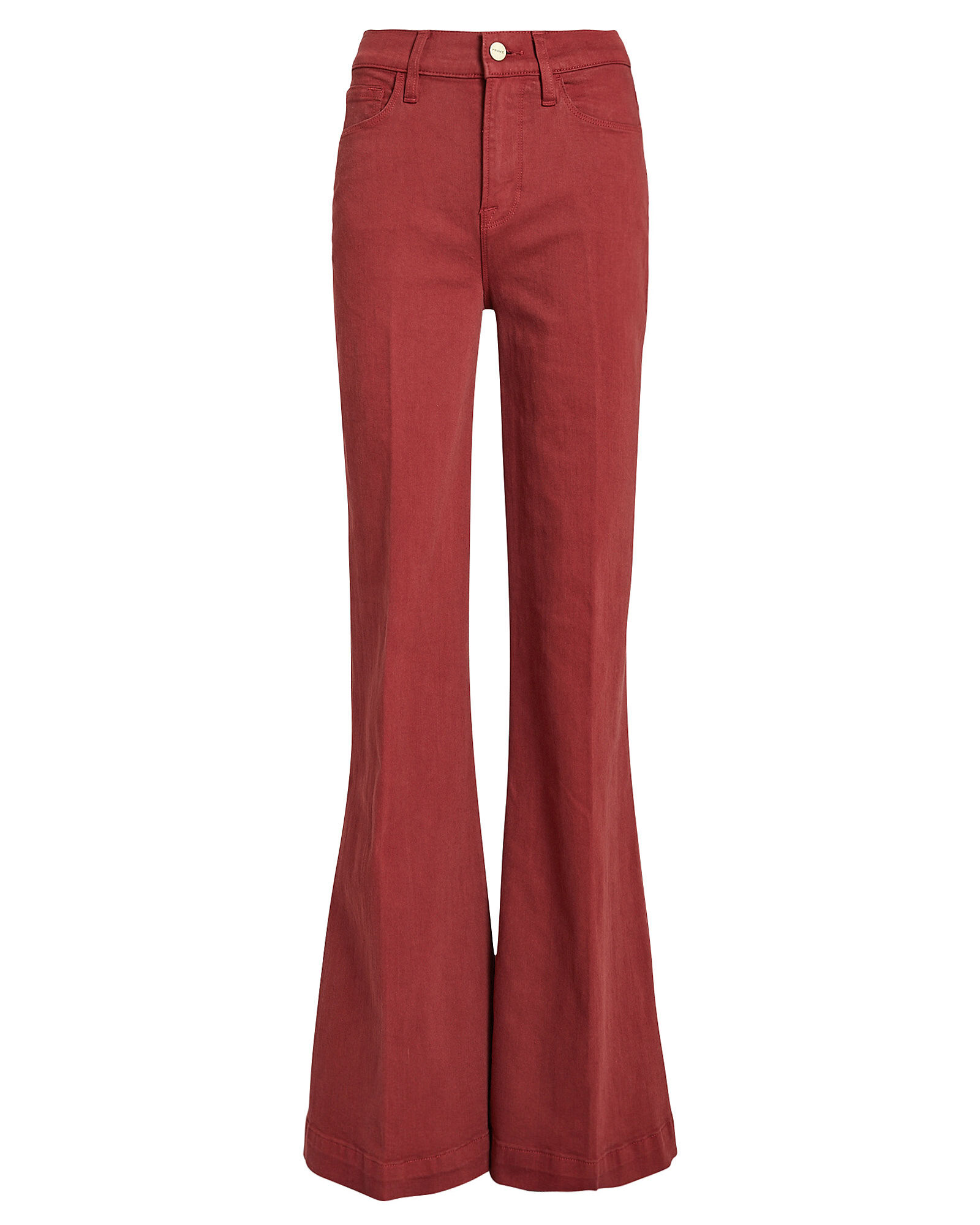 Le Palazzo Wide Leg Jeans, RED DENIM, hi-res