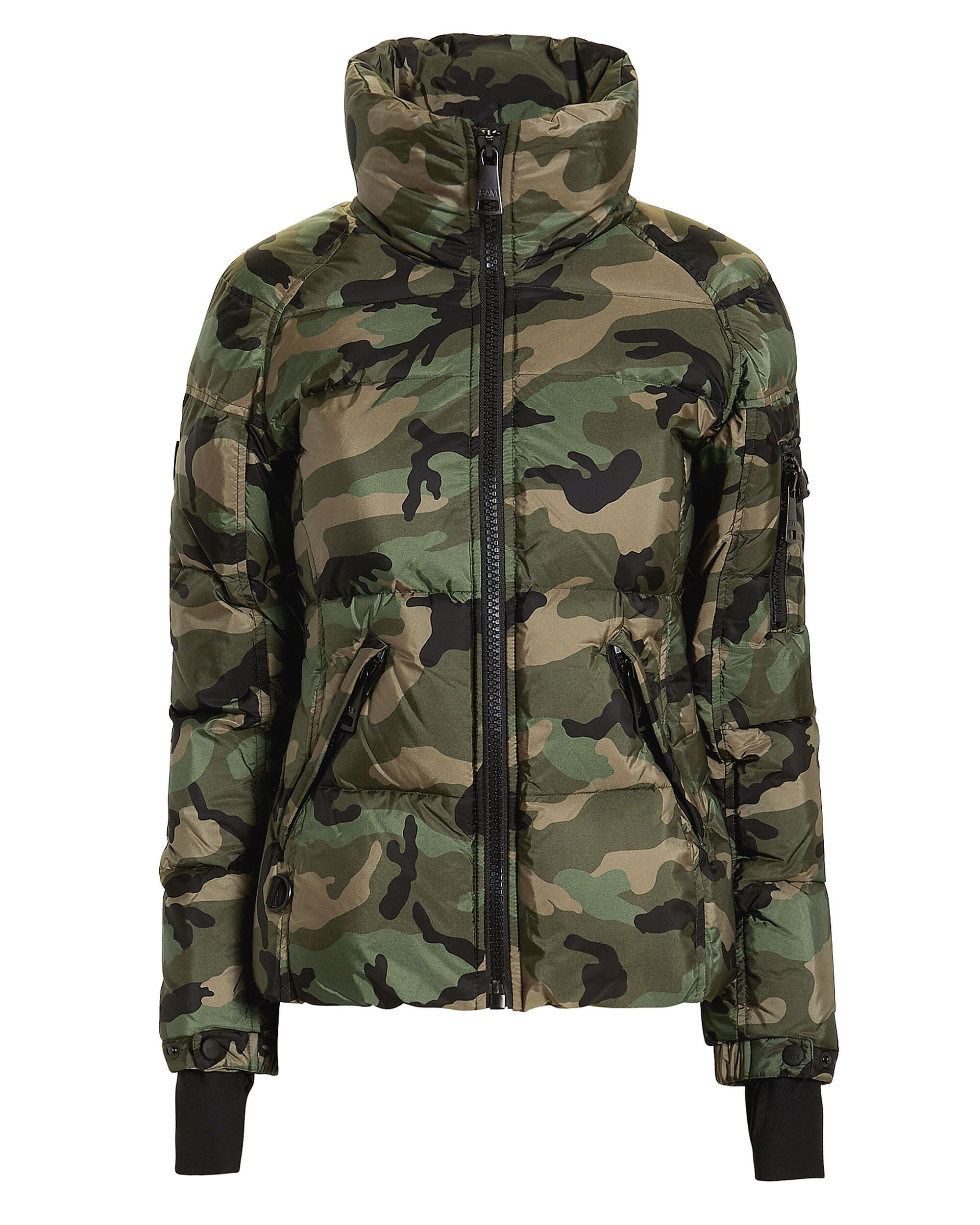 Freestyle Camo Puffer Jacket, CAMO PRINT, hi-res