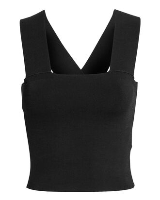 Lia Knit Tank, BLACK, hi-res