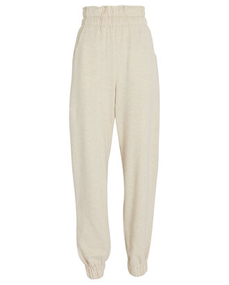 Anita Cotton Joggers, BEIGE, hi-res