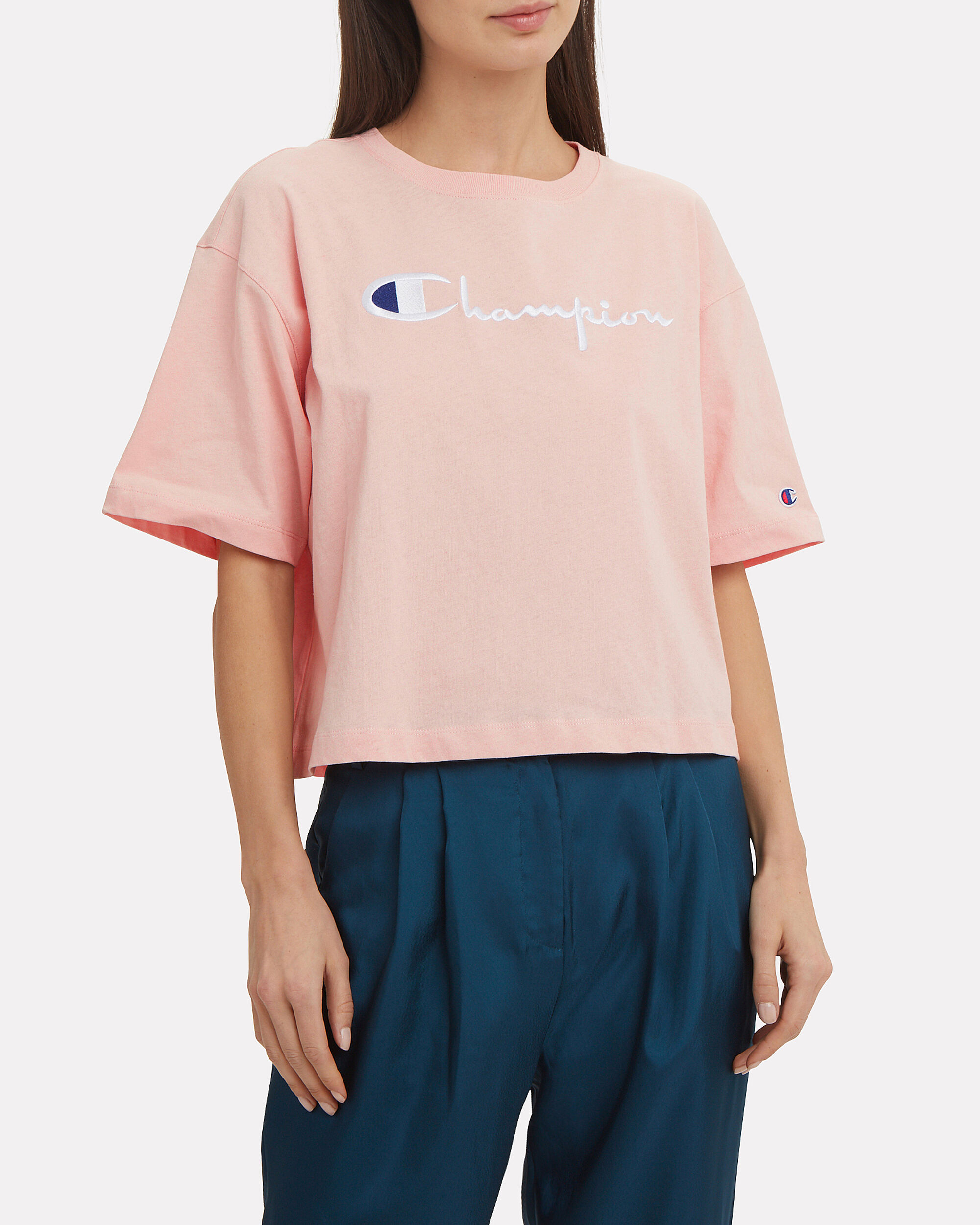 Orchid Cropped T-Shirt, LIGHT PINK, hi-res