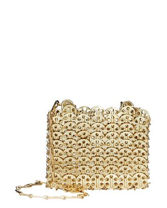 Nano 1969 Mini Chainmail Bag, GOLD, hi-res