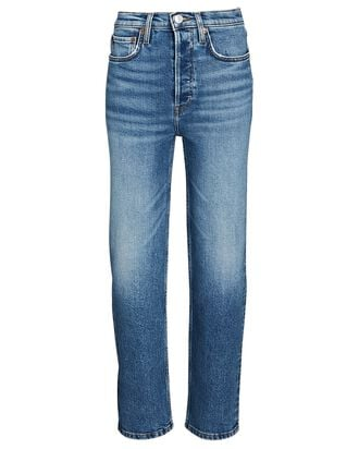 70s Stove Pipe Jeans, DUSTED BLUE, hi-res