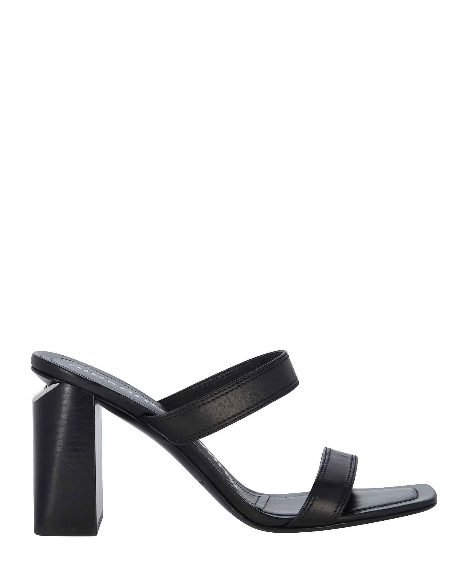 Hayden Slide Sandals, BLACK, hi-res